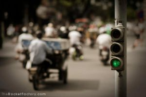 A stop light by frankrizzo