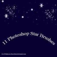 PS Star Brushes by Safaia-no-Sora-hime