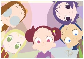 ojamajo doremi by piqcolourpencils