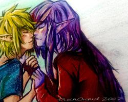 VaaLink nose snuggles by blackorchid2007