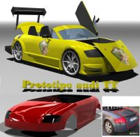 Proyecto1 3d +Audi TT+ by jese-mx