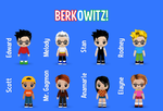 The Characters of BERKOWITZ! by ETSChannel