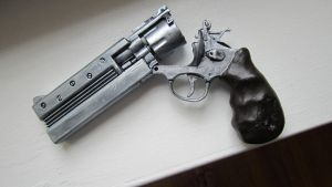Steampunk Revolver Mark II (open) by echo-mlb