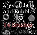 Spheres and Bubbles Brushes by TracyWong
