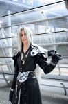 Sephiroth: Aura of arrogance by Abessinier