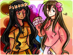 AT: Colourful Asian Cuties by Jazzy-Strings