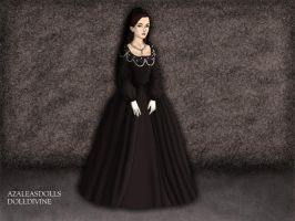 The ghost of Mary Tudor by BellatrixStar88