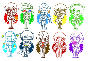 Five nights at Team Crafted by LollipopBubble999