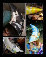 Magician's Valkyria: Hat Progress Shots by Lylee