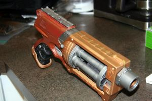 Steam Punk Nerf Maverick 3 by JohnsonArms