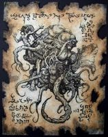 Shoggoth by MrZarono