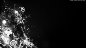 Abstract Wallpaper 1366x768 HD by kezey