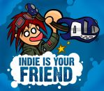 Indie is your Friend by GagaMan