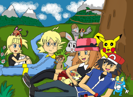 Pokemon X and Y by Pikarty10