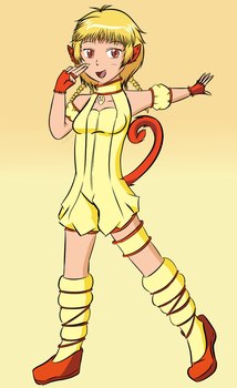 Tokyo Mew Mew Challenge - Teen Pudding by LuckyDragonfly
