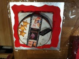 Movie Star Cake by cakesbyrachel