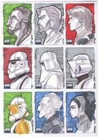 SW Galaxy 6 04 Sketch cards by Hodges-Art