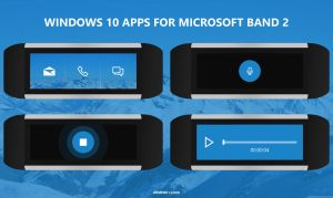 Windows 10 Apps for Microsoft Band 2 - Voice Rec by armend07