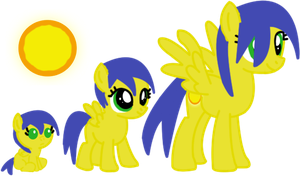 Sun Glaze - Adoptable (SOLD) by FrostQuill