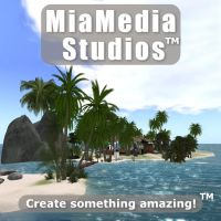 Flier for MiaMedia with scene from CryEngine by Cobalt3D