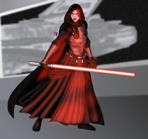 Revan_Dark Lady of the Sith by DarthVandola