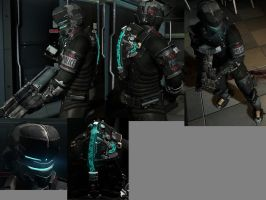 Dead Space 2 Riot Control RIG by IVG-105