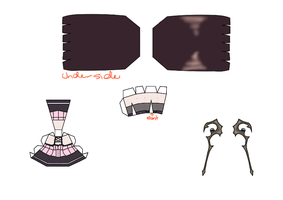 Ruby Tojo papercraft template Part 2 by groncaloncia