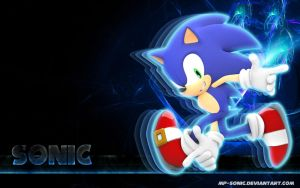 Sonic - Wallpaper by MP-SONIC