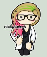 Avril Lavigne Abbey Dawn Fashion Show by NickyToons
