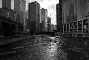 Chicago river by olgaFI