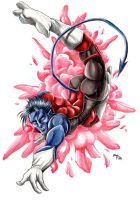 Nightcrawler - BAMF by chibi-j