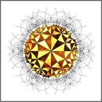 Hyperbolic Tessellation 1 by drdeseis