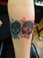 Green Day tattoo by VampsllNeverHurtYou