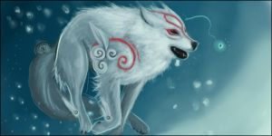 Okami Amaterasu's Fun by Valhalrion