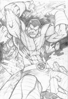 colossus pencils by hanzozuken
