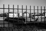 City behind bars by TLO-Photography