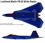F/B-22 Advanced Tactical Fight-Bomb Strike Raptor by CommanderWolffe