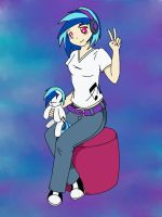 Human Vinyl Scratch by o0VinylScratch0o
