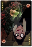 OUAT Special Card Evil Witch by jeorje90