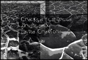 .:Cracked Textal Brushes:. by LavinaStock