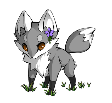 Moontail As A Fox by flamefoot15