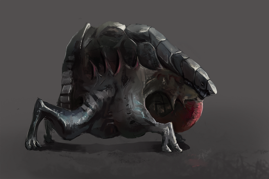 Concept Art 02 Creature by Kettenotter