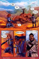 Dragon Fighting Pg 1 by AmandaRamsey