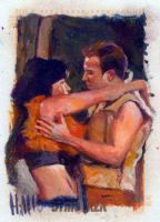 star trek 50th oil sketch 33 by charles-hall