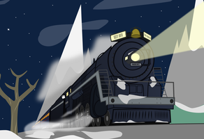 Walthers Polar Express by BRONYVAGINEER