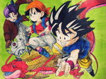 Dragon Ball GT Color by SunnyDjoka