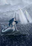 The end of the Little mermaid by Sjusjun
