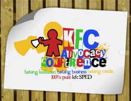 KFC Advocacy Conference logo by eggay