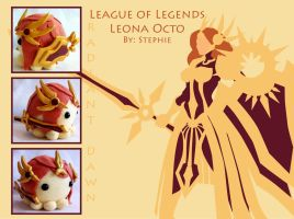 League of Legends Leona Octopus Plush by ValkyriaCreations
