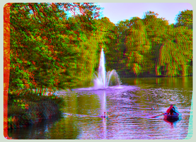 Great Garden 3D ::: DRI Anaglyph Stereoscopy by zour
